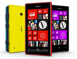 Nokia Lumia 720 aiemmin vuotaneessa kuvassa