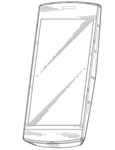 Nokian tuntematon patentoitu puhelindesign