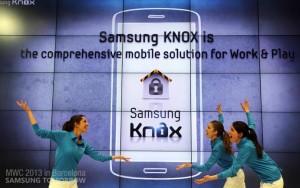 Samsung KNOX.