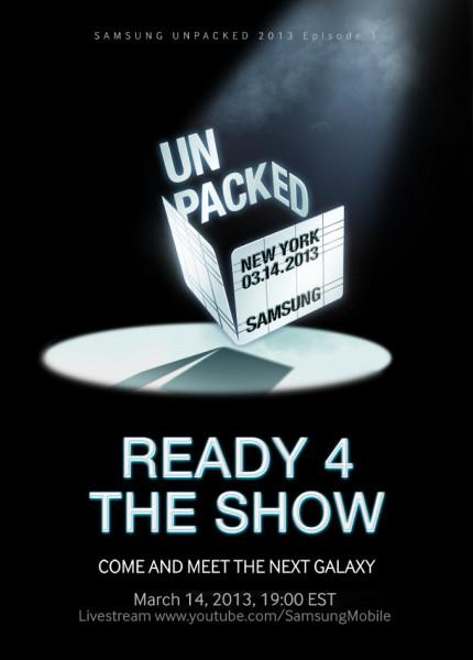 Samsungin Twitterissä julkaisema kiusoittelukuva Unpacked-tapahtumasta