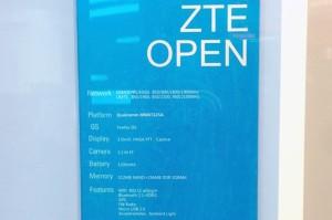 ZTE Openin ominaisuudet Engadgetin julkaisemassa kuvassa