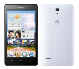 Huawei Ascend G700 @evleaksin julkaisemassa kuvassa