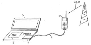 Kuva Nokian internet-jaon patenttihakemuksesta