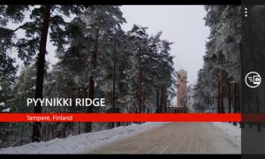 Kuvankaappaus Nokian Place Tag -sovelluksesta