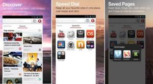 Operan WebKit-selain Androidilla