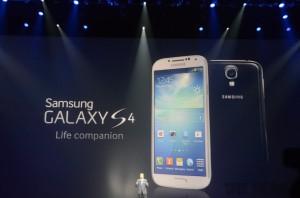 Samsung Galaxy S4 julkistustilaisuudessa