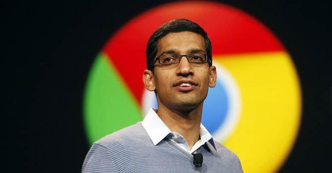 Googlen Android- ja Chrome-pomo Sundar Pichai