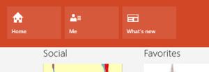 Windows 8:n päivitetty Ihmiset-sovellus
