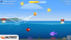 Kuvankaappaus Fish Out of Water! -pelistä
