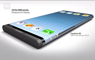 T3:n luoma iPhone 6 -konseptikuva.