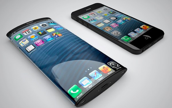 Applen patenttihakemuksen perusteella jo vuosia sitten luotu iPhone-konseptikuva (Nickolay Lamm ja Matteo Gianni)