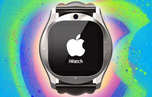 iWatch tulossa. Kuvituskuva - ei Applen oikea laite.