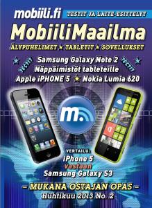 MobiiliMaailma 2013/4 -kansi