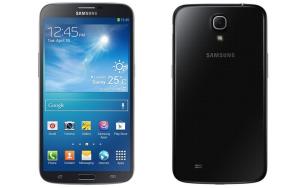 Samsung Galaxy Mega 6.3 edestä ja takaa