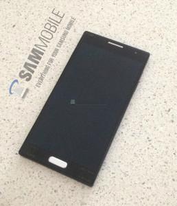 SamMobilen julkaisema kuva, kyseessä on Galaxy S4 -prototyyppi