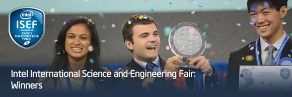 Voittajien on helppo hymyillä: ISEF-tapahtumassa oli jaossa yli 4 miljoonaa dollaria nuorille keksijöille.