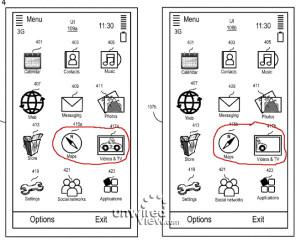 Unwired View -sivuston julkaisema kuvankaappaus Nokian vuotojen jäljitysjärjestelmän patentista