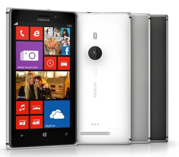 Nokia Lumia 925 eri väreissä
