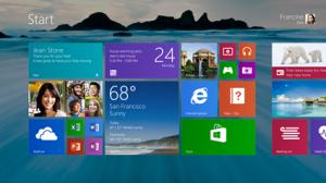 Windows 8.1 tuo muun muassa erikokoisia tapahtumaruutuja ja vapauksia taustakuvan valintaan