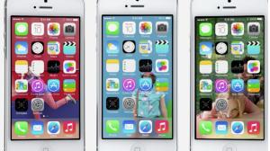 Uuden iOS 7:n sovellusvalikko