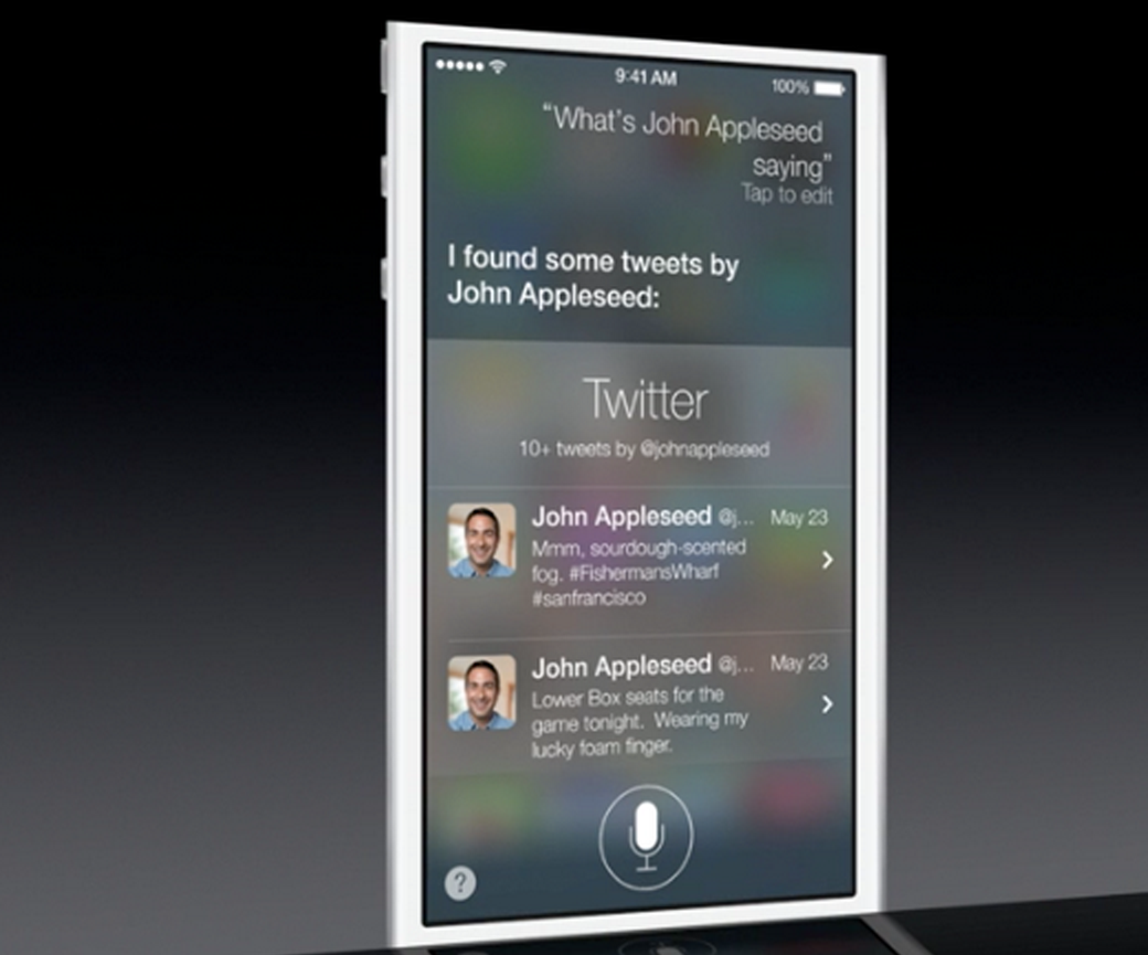 iOS 7:n Siri