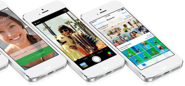 Applen iOS 7: saapuva puhelu, Kamera, Kuvat