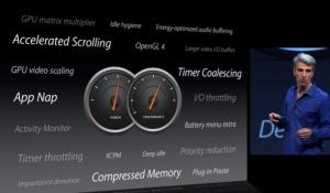 Applen OS X Mavericksin teknisiä uudistuksia