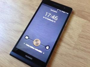 Huawei Ascend P6 ja lukitusnäkymä