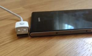 Huawei Ascend P6 ja USB-liitin