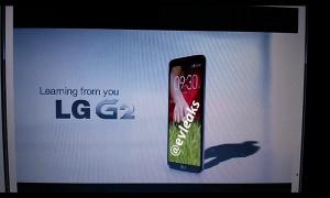 LG G2 @evleaksin aiemmin julkaisemassa kuvassa