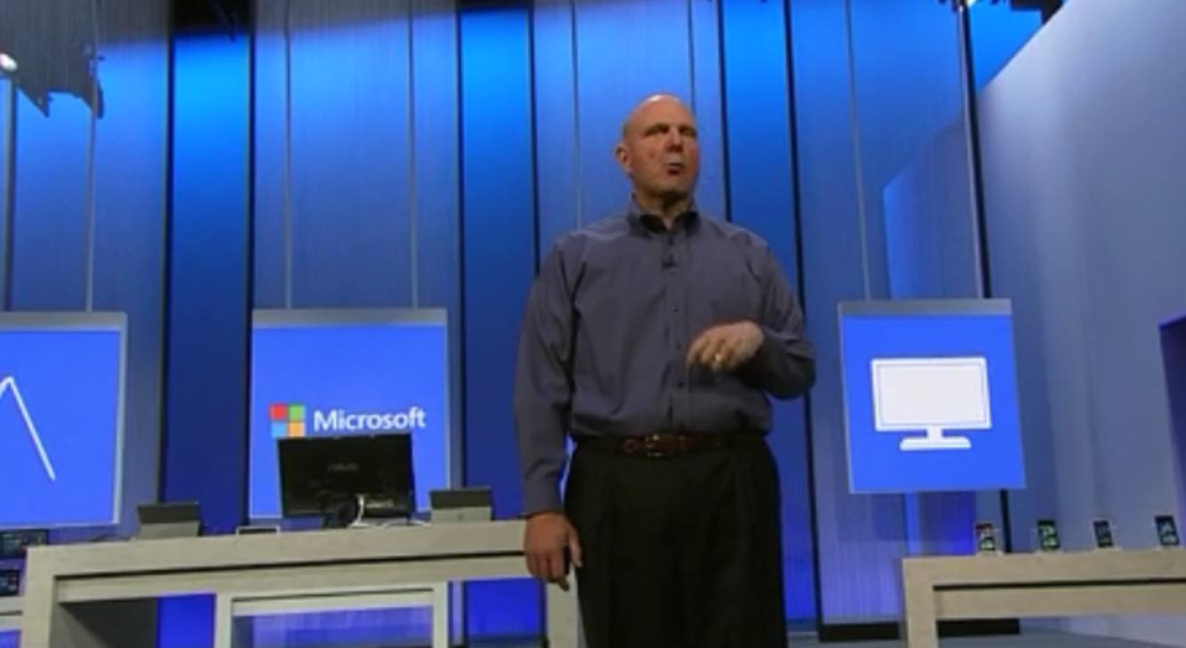 Microsoftin toimitusjohtaja Steve Ballmer esitteli uusia juttuja BUILD-konferenssissa