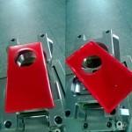 Nokia EOSin punaiset kuoret kiinalaisessa Weibo-palvelussa julkaistussa kuvassa