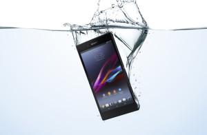 Sony Xperia Z Ultra on vedenkestävä