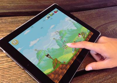 Angry Birds iPadissa