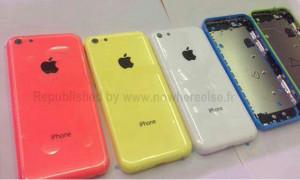 Applen edullisemman iPhonen kuoria Nowhereelse.fr:n julkaisemassa kuvassa