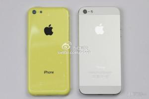 Applen väitetty edullisempi iPhone vs. iPhone 5 takaa aiemmin julkaistussa kuvassa