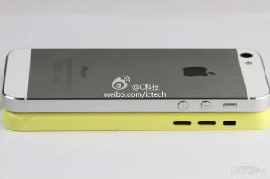 Väitetty edullisempi iPhone ja iPhone 5 sivusta