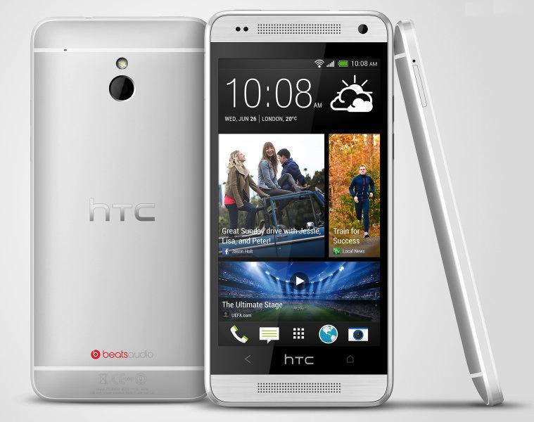 HTC One mini hopeisena