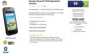 Huawei Ascend Y210 59 eurolla Gigantista