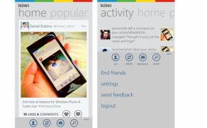 Instance-sovellus Windows Phonelle