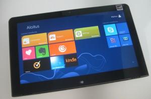 Lenovo ThinkPad Tablet 2 edestä