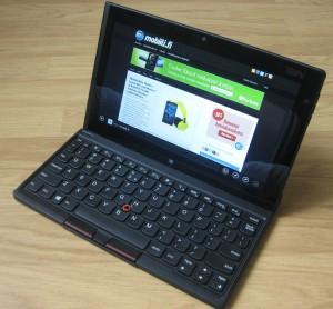 Lenovo ThinkPad Tablet 2 ja lisävarustenäppäimistö