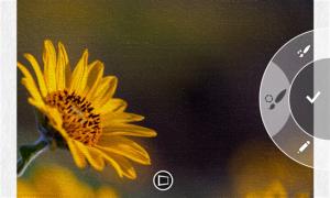 Kuvankaappaus Microsoftin Fresh Paint -sovelluksesta Windows Phone 8:lle