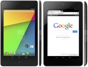 Uusi Nexus 7 vs. aiempi Nexus 7 Phone Arenan julkaisemassa vertailukuvassa