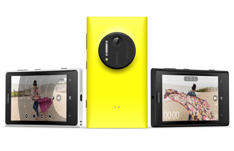 Nokia Lumia 1020.