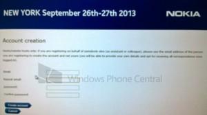 Mystinen Nokian tilaisuus New Yorkissa 26.-27. syyskuuta. Windows Phone Centralin kuva.
