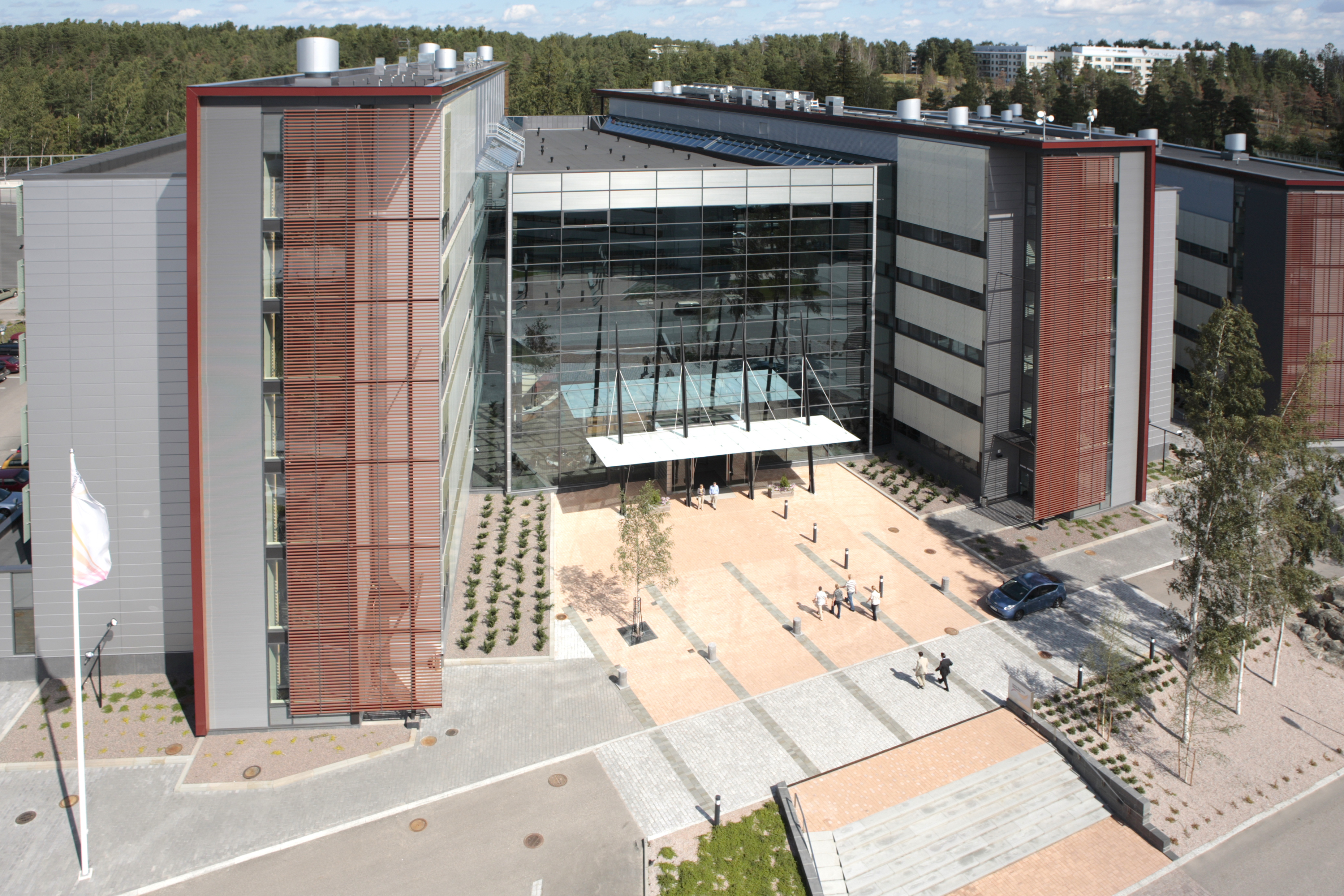 NSN:n pääkonttori Espoossa