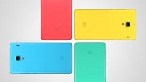 Xiaomi Red Ricelle tulevia takakuorivärejä
