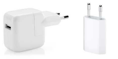 Applen virallisia iPad- ja iPhone-latureita