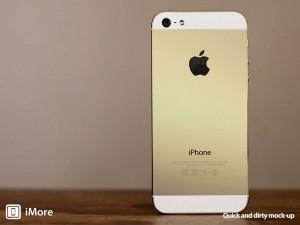 Tältä samppanjankultainen iPhone voisi näyttää. iMoren esimerkkikuva.